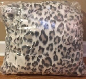 Astounding New Pottery Barn Teen Gray Cheetah Faux Fur Large 41 Pdpeps Interior Chair Design Pdpepsorg