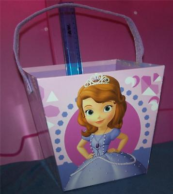 Disney Minnie Mouse and Daisy Paperboard Bucket Gift Basket Room Decoration