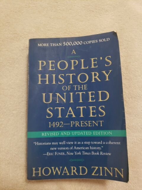A People's History of the United States by Howard Zinn (1995, Trade Paperback, …
