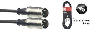 MIDIkabel-DIN-M-DIN-M-Metall-in-verschiedenen-Langen-1m-2m-3m-6m-10m-H6-034