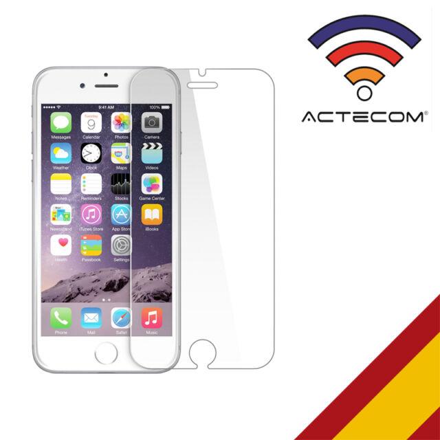 """ACTECOM® CRISTAL TEMPLADO PARA IPHONE 6S  PLUS 5,5""""  2.5D 9H PROTECTOR GLASS"""