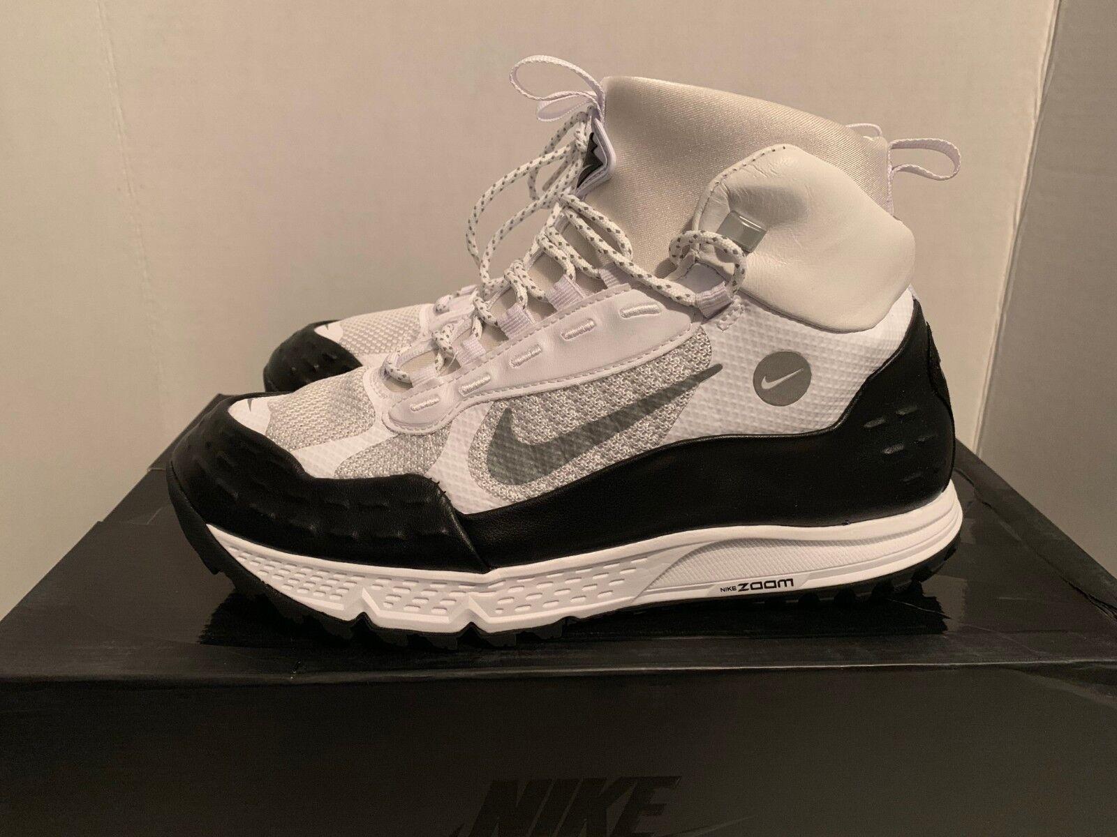 Nike Nike Nike air zoom sertig 16 dimensioni 10 11 bianco riflettente silver nero lab b4d2c1