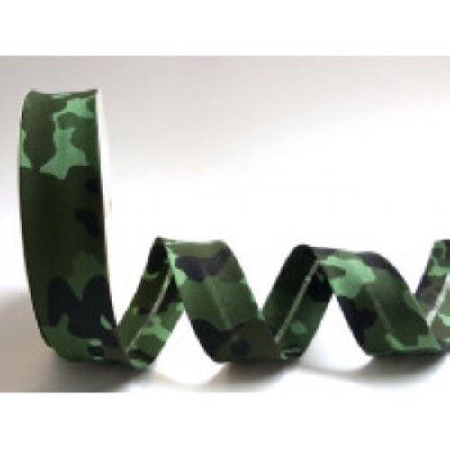 Sesgo de Unión Camuflaje Gris O Verde 30 mm Gran Calidad Ribete de recorte para