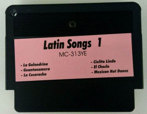 YAMAHA Music Cartridge MC-313YE Latin Songs 1 2911 Nr Lagerabverkauf