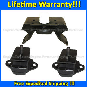 K430 Fit 1996-1998 Toyota 4Runner 3.4L 4WD AUTO Front L/&R Motor /& Trans Mount