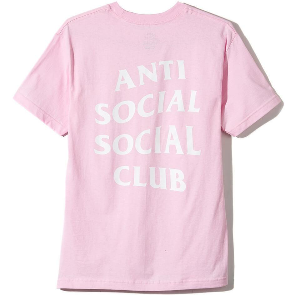 NEW Anti Social Social Club ASSC Classic Logo Tee 2 Pink Shirt 100% Authentic