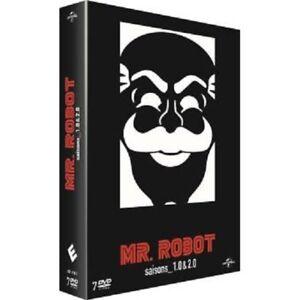 COFFRET DVD SERIE THRILLER : MR. ROBOT : SAISON 1 ET 2 COMPLETES - MR ROBOT