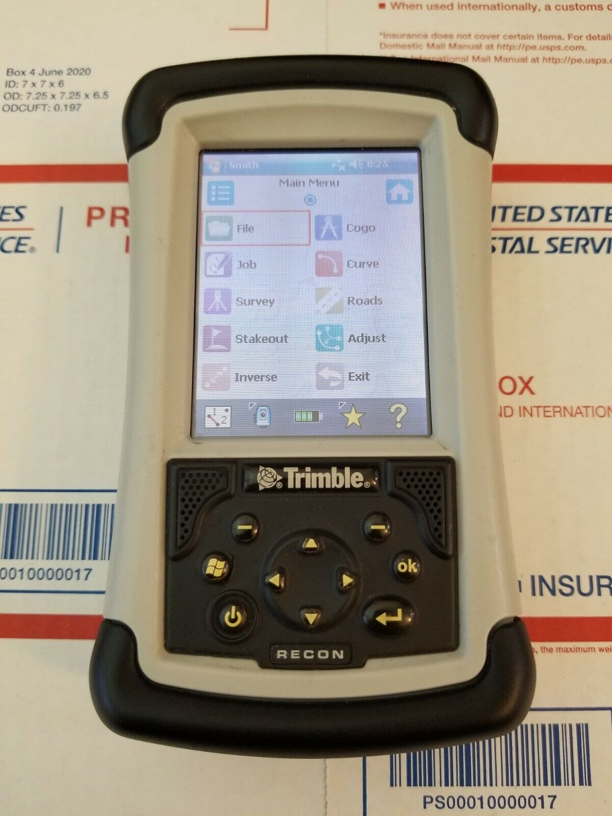 TRIMBLE TDS RECON 400 DATA COLLECTOR SURVEY PRO,SURVCE NIKON TOPCON INSTRUMENTS