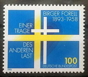BRD-Bund-Michel-Nr-1693-postfrisch-1993-Birger-Forell