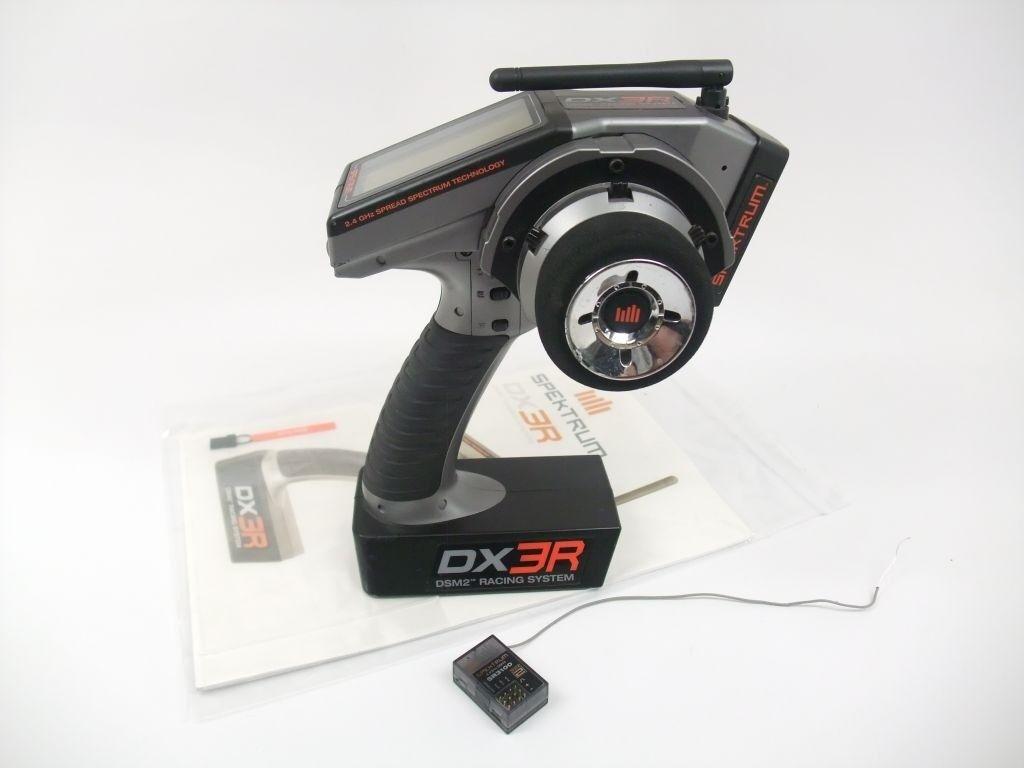 Spektrum DX3R 2.4GHz DSM2 3 Channel Transmitter SR3100 Receiver & Manual SPM3100