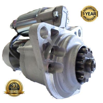 New Starter Hyster Yale Lift Trucks w Mazda HA XA Engines Models DE DB SYSN0105