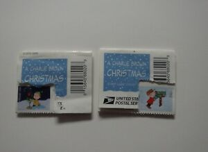 A Charlie Brown Christmas 35 Forever Stamps 2015 #5021-5030 Holiday Peanuts Book