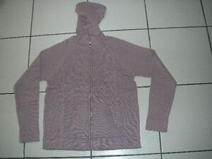 Gilet-A-Capuche-Pull-Rose-Neuf-Taille-12-14-Ans-La-Redoute