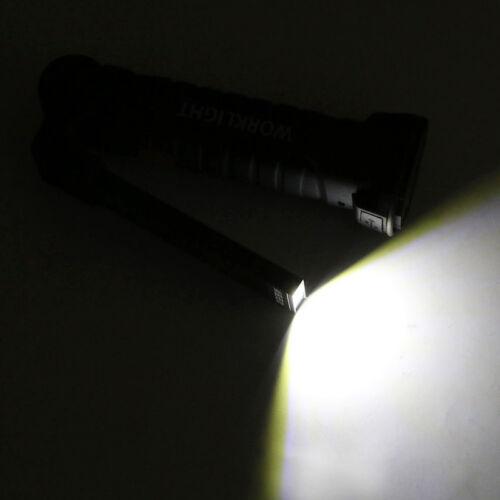 COB LED Arbeitsleuchte KFZ Taschenlampe Stablampe Werkstatt Lampe Handlampe