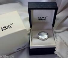 Montblanc Ring Mother of Pearl Star 48 Sterling Silver 5 1/2 w/2 Boxes 5.5 RARE