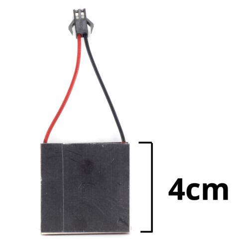 Thermoelektrische Stromerzeuger Peltier Modul Teg 4 X 4 cm Herd Lüfter Reparatur