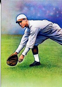 USPS POSTAL CARD LEGENDS OF BASEBALL ALL CENTURY TEAM GEORGE SISLER