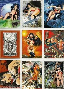 2011 Vampirella 72 Card Set of Cards in the Original Box by Breygent