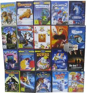Kinderfilme-je-1-DVD-Bundle-auswaehlen-Trickfilm-Zeichentrick-Anime-Sammlung
