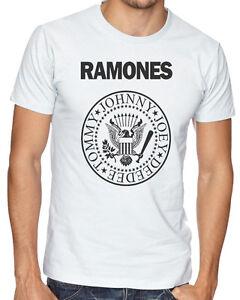 HonnêTe Le Ramones American Punk Rock Band Music Logo Hommes Femmes Unisexe T-shirt 156-afficher Le Titre D'origine Des Biens De Chaque Description Sont Disponibles