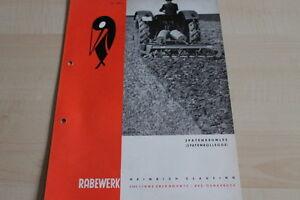 Kataloge & Prospekte Anleitungen & Handbücher Rabewerk Spatenkrümler Spatenrollegge Prospekt 04/1968 Sinnvoll 144126