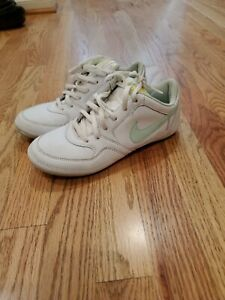 nike white classic casual sneakers shoes women's size 65