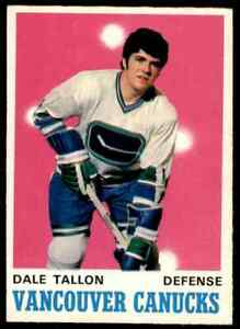 1970-71-O-PEE-CHEE-HOCKEY-225-DALE-TALLON-RC-VGEX-CANUCKS-HC-EXCHANGE-4