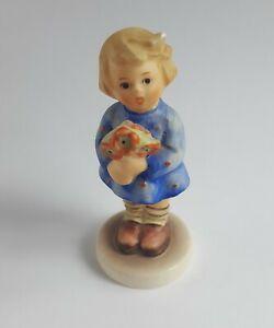 Genuine Vintage Goebel Hummel Figurine Little Girl With Nosegay 1980s TMK-6