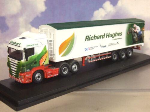 Oxford Scania Cab Jockey Lkw & Lkw Eddie Stobart Richard Hughes 76SHL05WF Spielzeugautos