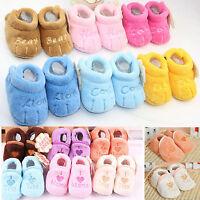 Winter Warm Newborn Kids Baby Boy Girl Infant Soft Crib Shoes Boot Slippers New