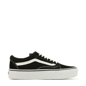 Details about Vans Old Skool Platform Sneaker Women va3b3uy28 Black White-  show original title