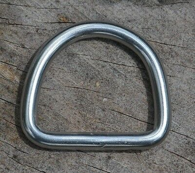 "Lot of 50 Metal Welded 1"" D-Ring Paracord Bracelets Dog/Pet Collars **USA**"