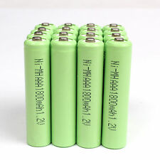 8 X Battery AAA  1.2 V 1800mAh Ni-MH Rechargeable Battery for Toy MP3 RC - Green