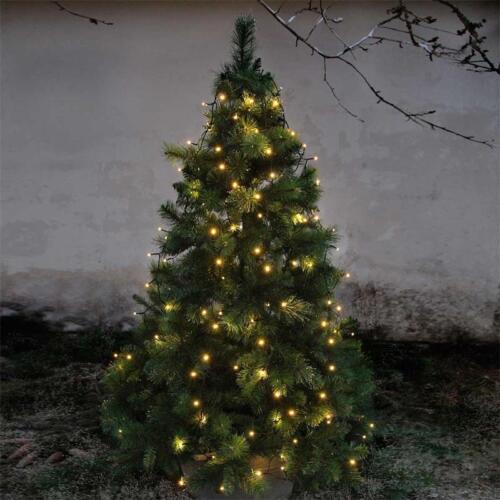 Baumvorhang Lichterkette 160 LED 8 Stränge für Weihnachtsbaum für Innen /& Außen