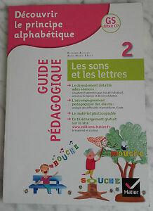 2012 I Sons E Lettere Guida GS Pedagogico Debut CP Hatier Infolio Tbe