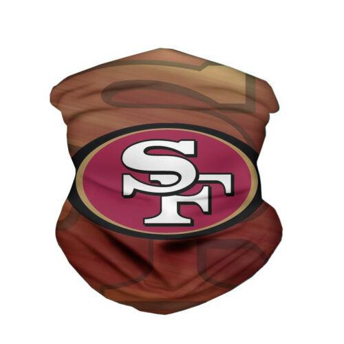 San Francisco 49ers Magischer Schal Kopfbedeckung Multifunktionstuch Maske