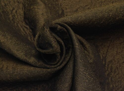 """REGAL BRONZE HEAVY WOVEN FURNITURE UPHOLSTERY FABRIC BY THE YARD 56/""""W"""