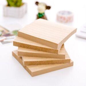 Line-Paper-Office-Planner-Kraft-Sticky-Note-Stickers-Memo-Pad-School-Supplies
