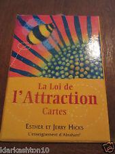 la loi de l'attraction , cartes / Esther et Jerry Hicks