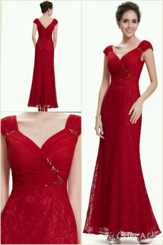 UK Long Formal Evening Prom Party Dress Bridesmaid Dresses Ball Gown Cocktail 18