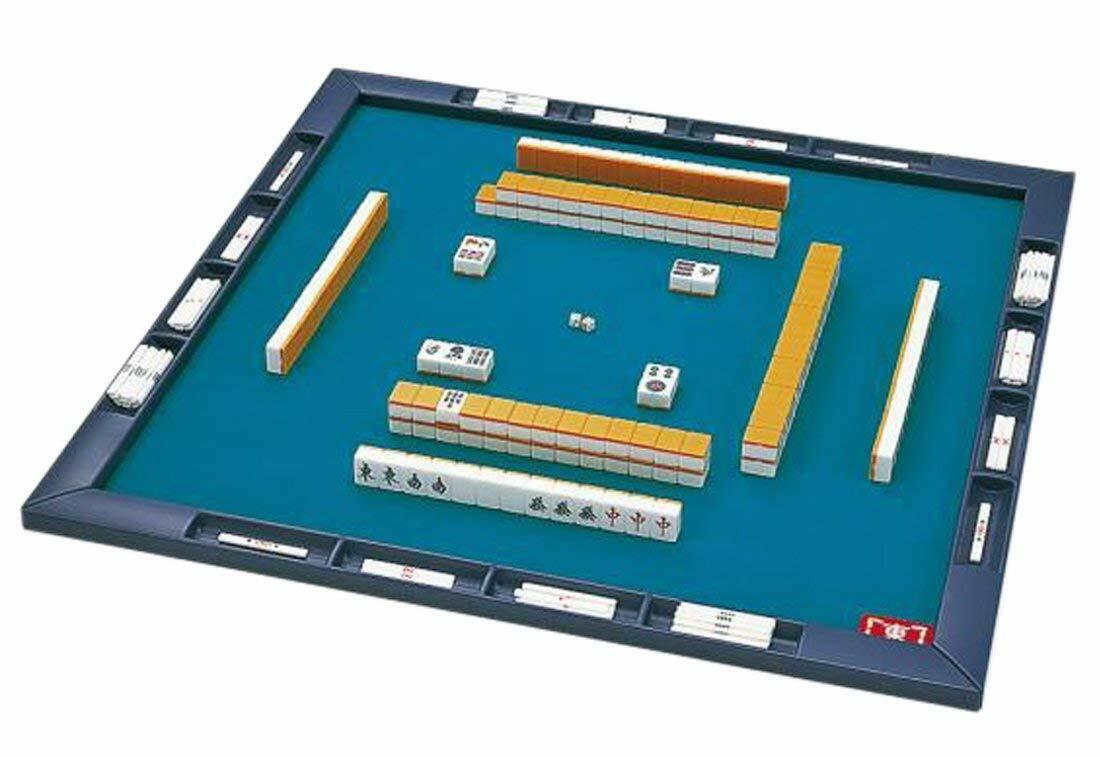 barato y de alta calidad Japonés Mahjong Mahjongg Pai Sango Mat Set Set Set Con Estuche De Japón  exclusivo