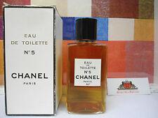 VINTAGE 1970's  CHANEL No 5 EDT  8 oz / 240 ml  CHANEL No 5 EAU DE TOILETTE RARE