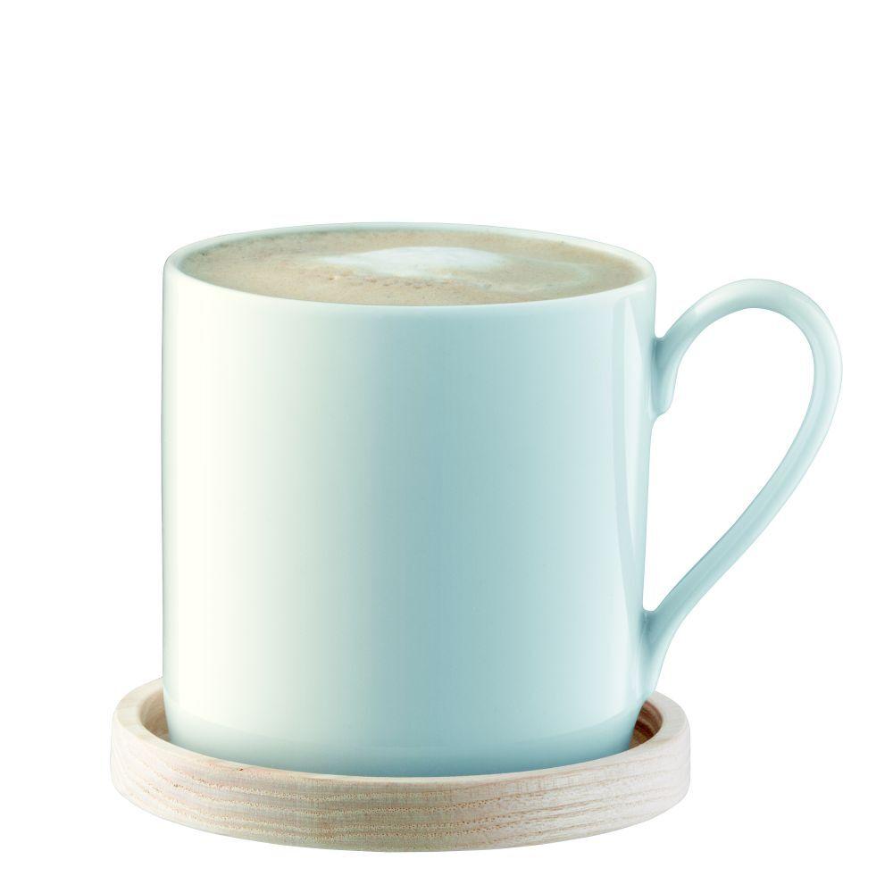 LSA Circle Mug & Ash Saucer 0.34L - Set of 4