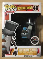 Pop Vinyl Figure 46/Gentleman Claptrap Limited Edition /Borderlands Funko 5578/ 9/cm