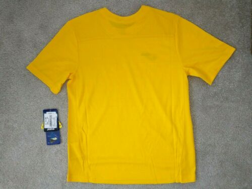 Joma Yellow Sports T Shirt Micro Mesh Kids Youth All Ages 4-14 Breathable NEW