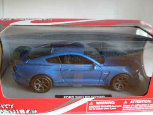 NewRay Auto Modell Elektrisches Spielzeug Ford Shelby GT 350R blau 1:24