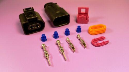 VW AUDI 2 Pin Plug 1J0973722 /& 1J0973822 for magotan horn Waterproof Touareg