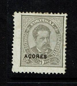 Azores-SC-44-Mint-Hinged-Hinge-Remnant-shallow-thin-Lot-080917