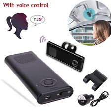 Car Kit Bluetooth Portable Multipoint Wireless Hands-free Sun Visor Speaker