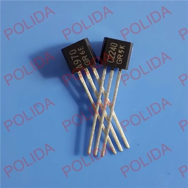 20pairs 2SA970 /& 2SC2240 A970// C2240 2SA970-GR// 2SC2240-GR Transistor
